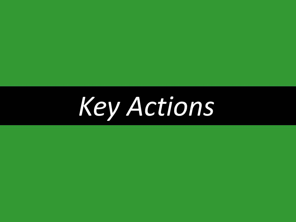 key-actions