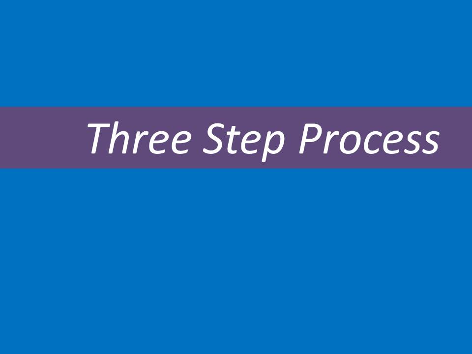 three-step
