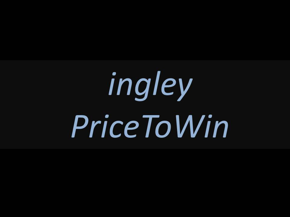 ingley price to win