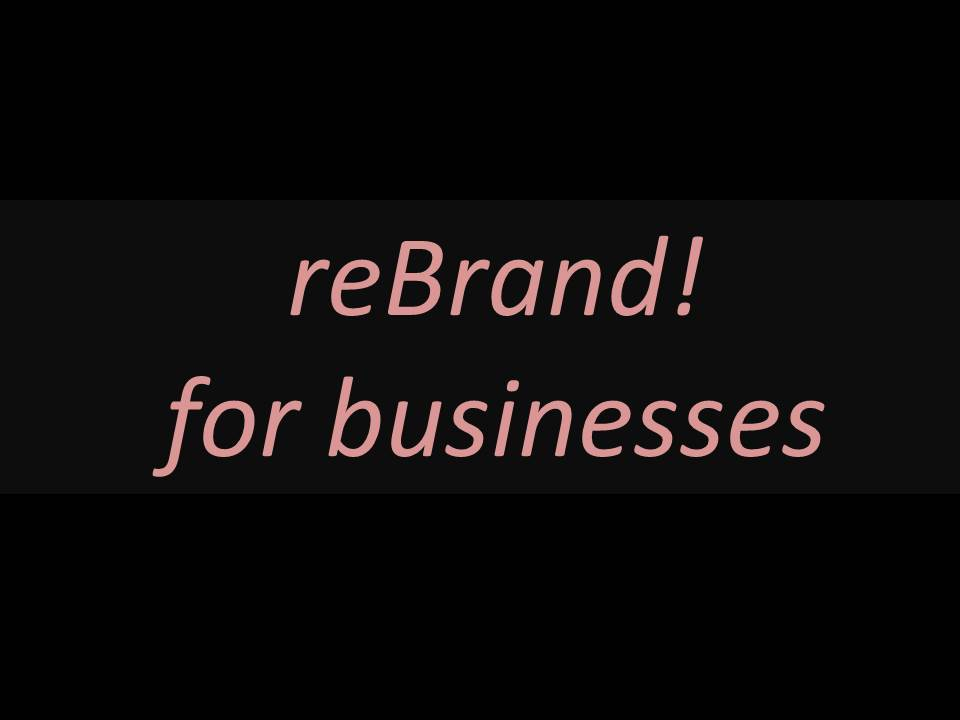 reBrand for businesses